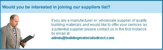 want to be a supplier?