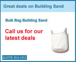 bulk bag building sand from as low as £40.00+vat