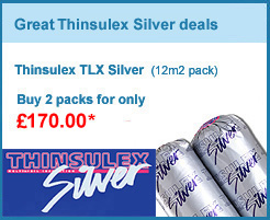 Thinsulex TLX Silver 2 pack bundle for only £170.00 +VAT